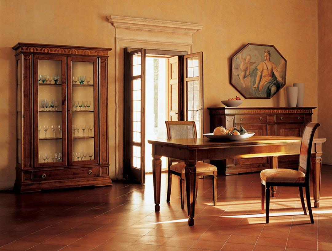 Soggiorni classici - Savina Mobili: Mobili per la casa ...